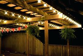 patio led string lights lighting new outdoor umbrella globe