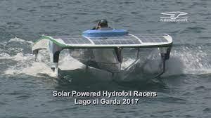 Solar Hydrofoil Racers - YouTube