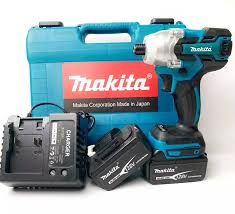 Máy Bắt Vít Makita 128V [ FULL BOX + BH 6 Tháng ] - Tặng 2 Pin 1 Sạc - Không  chổi than