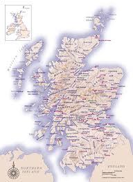 map of scotland printable. Delighful Scotland Clan Lands Map With Of Scotland Printable