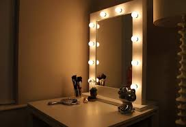 Vanity Mirror With Lights Around It in Lighting