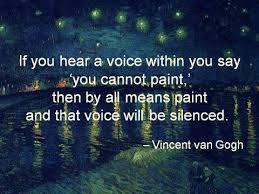 Vincent Van Gogh Quotes Amazing Pamela Leigh Richards Paint Quote Vincent Van Gogh