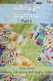 Planning and Buying Fabric for Quilts - Quilting for Beginners Pt ... & Planning and Buying Fabric for Quilts - Part 1 in a 5-part Quilting for Adamdwight.com