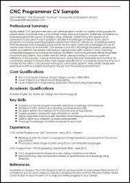 Computer Programmer Resume Cv Template Smart Photo Accordingly Cnc