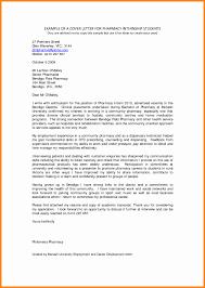 Cover Letter For New Graduate Pharmacist Cover Letter