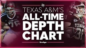 Texas A Ms All Time Depth Chart Offensive Linemen Tight