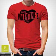 Tue, feb 2 priority mail: Mens Boys Happy Valentines Day Heart Logo Party Designer T Shirt Top Black Ebay