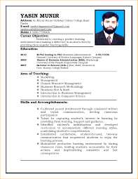 Cv For Driver Job Curriculum Vitae For Teachers Filename Write Resume Teaching