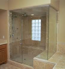 heavylux frameless glass shower