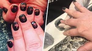 sns nails i tried dip powder nails and