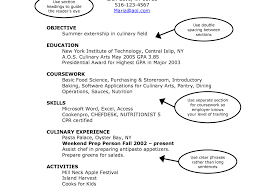 Cooking Instructor Sample Resume The Mind Map Book Pdf