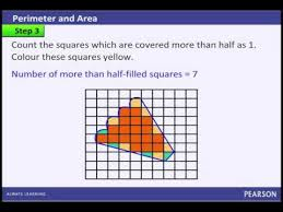 How To Calculate The Area Of A Given Irregular Figure Using A Square