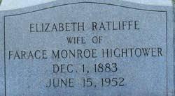 """Elizabeth """"""""Bettie"""""""" Ratliff Hightower (1883-1952) - Find A Grave ..."""