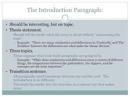 the five paragraph essay ppt video online the introduction paragraph