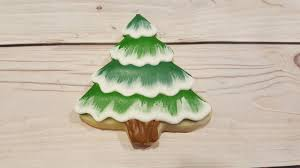 Sugar Cookie Tree Designs Snowy Pine Tree Sugar Cookies On Kookievision By Sweethart Baking Experiment