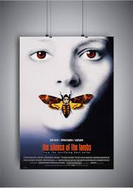 Poster The Silence Of The Lambs Movie Poster Wall Art Amazonca
