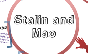 Mao Vs Stalin Venn Diagram The Similarities And Differences Between Stalin And Mao By