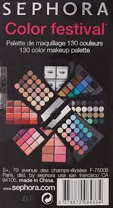 sephora collection color festival blockbuster makeup palette at low s in india amazon in
