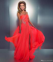 2015 Dresses Sexy Prom Dresses Crystal Embellished Halter Slit