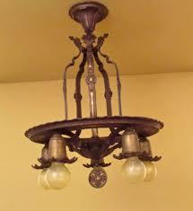 1920s high quality spanish revival pendant