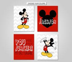 prints or canvas or printable digital download disney mickey mouse nursery bedroom wall art  on mickey mouse canvas wall art with 25 best mickey mouse decor images on pinterest
