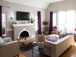 Purple Curtains For Living Room Photo Page Hgtv