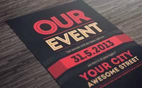 Template For Event Flyer 35 Best Psd Event Flyer Templates Designmaz