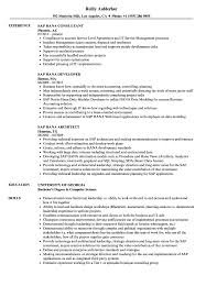 Sap Hana Resume Sap Hana Resume Samples Velvet Jobs 1