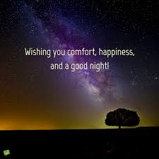 wishing you fort happiness and a good night