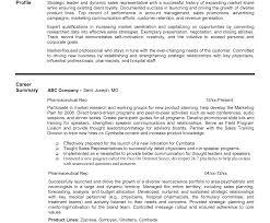 Fine Pharmaceutical Representative Resume Sample Images Resume