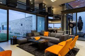 modern rugs for living room south africa. grey sofa, orange chairs, rug, coffee table, luxurious modern residence in pretoria, south africa rugs for living room u