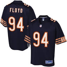 Floyd Player Pro Navy Men's Leonard Chicago Nfl Line Jersey Bears