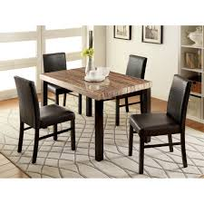 piece dining room hokku designs baylor  piece dining set