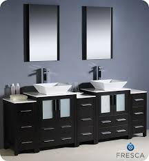 bathroom cabinets for vessel sinks. picture of fresca torino 84\ bathroom cabinets for vessel sinks