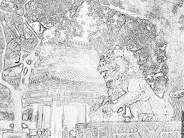 Coloriage Le Roi Lion Chinois Img 5412 Imprimer Pour Les Enfants