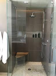 modern bathroom design for teenage boy steam shower with dornbracht fixtures and cove light