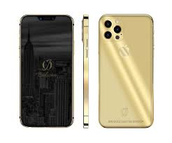 Design your own 24k gold Iphone 12 pro with our configutor!