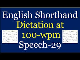 English Shorthand Stenography Dictation Test At 100 Wpm For 840 Words For Ssc Stenographer C D