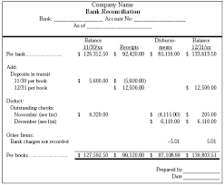 bank reconciliation form bank reconciliation form example ruth pinterest banks