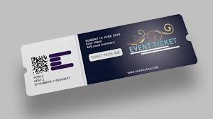 Ticket Design Design Tickets Zimer Bwong Co