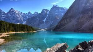 Beautiful Blue Mountain Lake 4k 16/9 ...