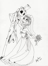 Coraline Coloring Pages Landschaft The Nightmare Before Christmas