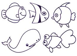 Awesome Sea Animal Coloring Pages Printable Free Gallery Printable