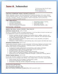 Cv Primary School Teacher Primary Teacher Cv Template Uk For Resume Education Spacesheep Co