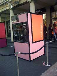 Chanel Vending Machine Beauteous Chanel Vending Machines LondonCan We Get These In America