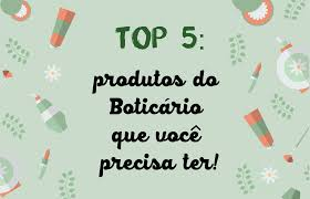 Fique pode dentro dos produtos de o boticário em promoção e garanta os melhores cosméticos por um ótimo preço. Top 5 Produtos Do Boticario Que Voce Precisa Ter Quebrei A Regra