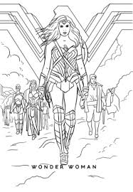 Small Picture Wonder Woman Movie coloring page Free Printable Coloring Pages