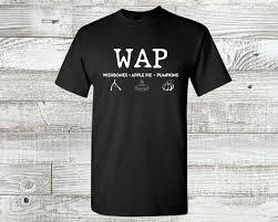 WAP Wishbones Apple Pie Pumpkins Funny Shirt Cardi B | Etsy