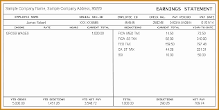 Check Stub Template Free Download