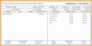 Free Pay Stub Template Basic 10 Create Paycheck Stub Template Free